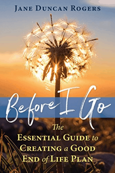 Before I Go - the cover of the book
