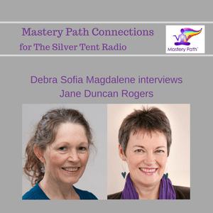 Jane Duncan Rogers with Debra Sofia Magdalene