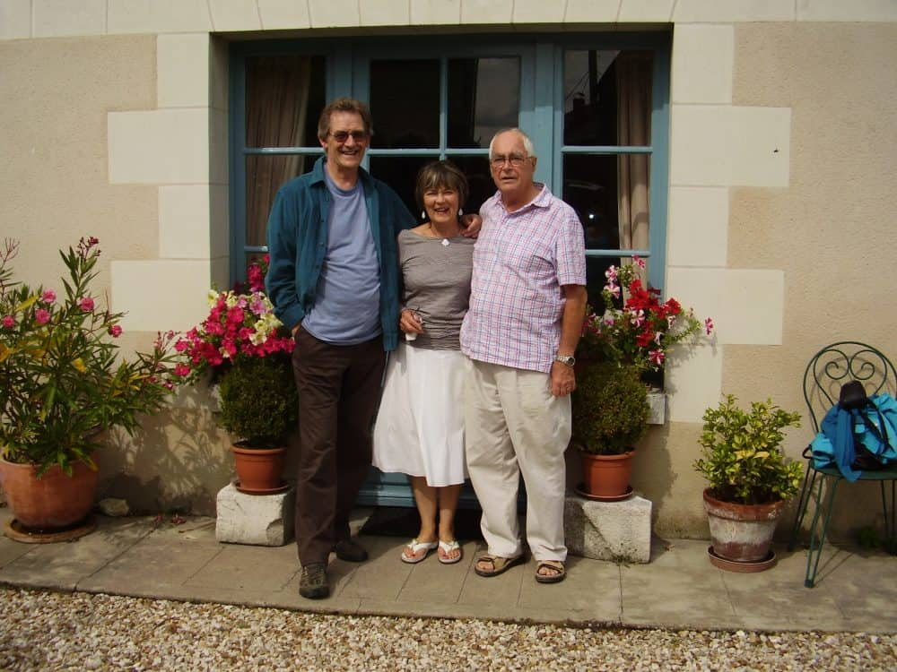 Mum, Dad and my husband - all no longer with us