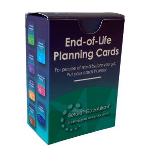 End of Life Planning Cards only