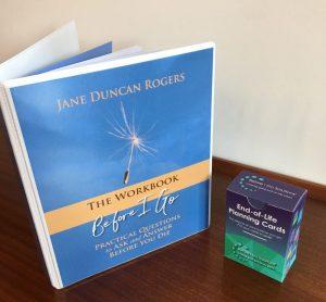 End of Life Planning cards and Workbook bundle packshot